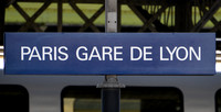 22 June 2014. Paris Gare de Lyon