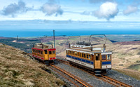 11 April 2014. Snaefell Mountain Tramway.