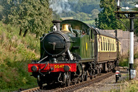 15 September 2012. The 1st Autumn Ale & Steam Weekend Gloucester & Warwickshire Railway