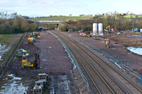 25 November 2012. Progress on Stratford-upon-Avon's new railway station.