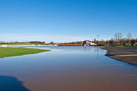 25 November 2012. Flooding in Warwick, Charlecote & Stratford upon Avon
