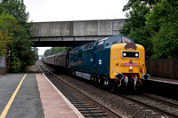 3rd September 2011. The Dorset Deltic Explorer