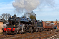 "5 January 2013. ""The Festive Mogul"" on the SVR"