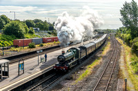 29 August 2015. The Welsh Marches Express at Small Heath
