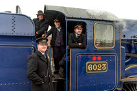 22 March 2013. King Edward II Photo Charter on the GCR.