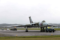 13 April 2013. XM655 fired up for XH558 crew training.