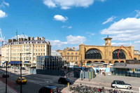 6 April 2013. Kings Cross & St Pancras stations