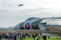 11 October 2015. XH558 Farewell to Flight with XM655