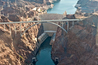 19 May 2012. Flying over Hoover Dam