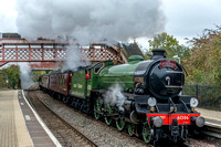 18 October 2015. Cathedrals Express - London to Stratford
