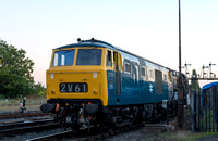 30 September 2015. Hydraulics at Kidderminster