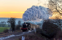 29 December 2014. Gloucester & Warwickshire Steam Railway - Christmas Cracker Gala