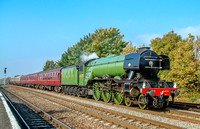 ARCHIVES - 16 October 2005. Flying Scotsman at Leamington Spa