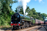 31 August 2013. North Norfolk Railway Gala