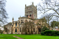 10 January 2016. Tewkesbury Abbey