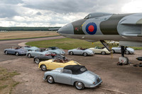 7 September 2013. Porsche Speedsters visit XM655.