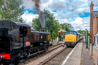 20 August 2016. Mid Norfolk Railway