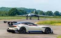 19 June 2016. Aston Martin VULCAN at Wellesbourne