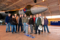 30th January 2011. XH558 at RAF Lyneham