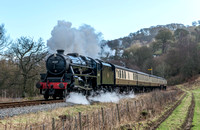 2 January 2015. Llangollen Railway - Winter Warmer Gala