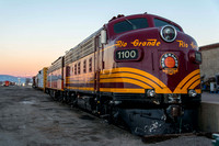 12 March 2014. Alamosa yard and works. San Luis & Rio Grande Railroad.