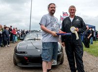 15 June 2014. Prizewinners at Wings & Wheels at Wellesbourne 5