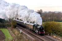"23 November 2013. Vintage Trains ""Elge Explorer"" to Ely"