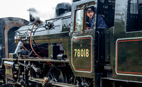 8 October 2016. A vote of thanks to the GCR footplate crews.