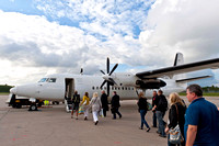6 July 2012. A Fokker 50 from Birmingham (BHX)