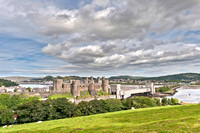 20th August 2011. Conwy Castle & bridges