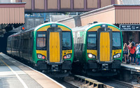 18 July 2014. Birmingham Moor Street & New Street stations