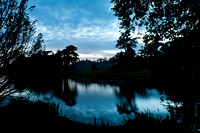 22nd September 2011. Compton Verney at dusk.