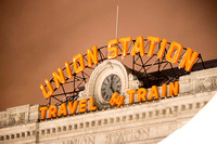8 March 2014. Denver Union Station - reopened after major refurbishment