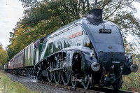 18 October 2014. East Lancashire Railway Gala with 2 x A4 Pacifics.