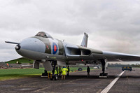 7 April 2012. XM655 EGR (Engine Ground Run) Success