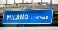 23 June 2014. Milan Central- changing trains.