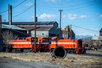11 March 2014. A tour of Evraz Steelworks. Colorado & Wyoming Railway.