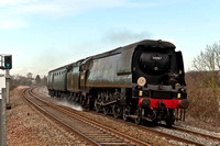 18th March 2011. 66's & 34067 Tangmere at Warwick Parkway