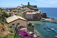 25 June 2014. Excursion to Cinque Terre - Manarola & Vernazza