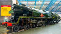 26 September 2014. Bulleid 4-6-2 Pacific 35029 Ellerman Lines at York NRM.