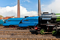 "12 April 2012. Barrow Hill ""Fab4 Gala"" -3- Preparations & Photo Charter"