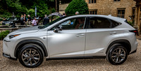 16 July 2014. Lexus NX preview at Foxhill Manor, Broadway.