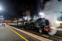 22 November 2014. Two steam excursions on the WCML