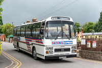 13 july 2014. Bus Rally at the Gloucester & Warwickshire Railway.