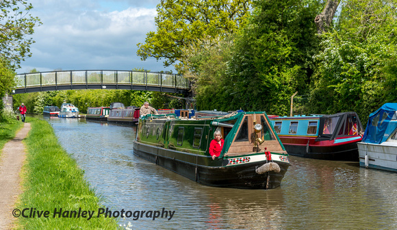 A walk along the towpath of the Grand Union canal would take me to Hatton North Junction