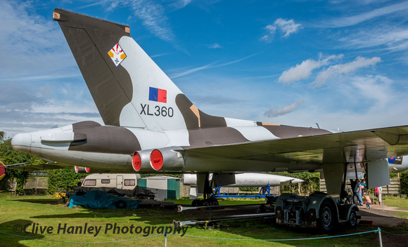 First a visit to the Midlands Air Museum at Coventry to view XL360