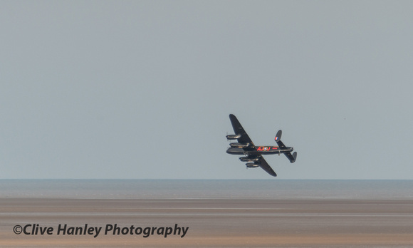 the LMA Avro Lancaster bomber provided some great entertainment during the morning.