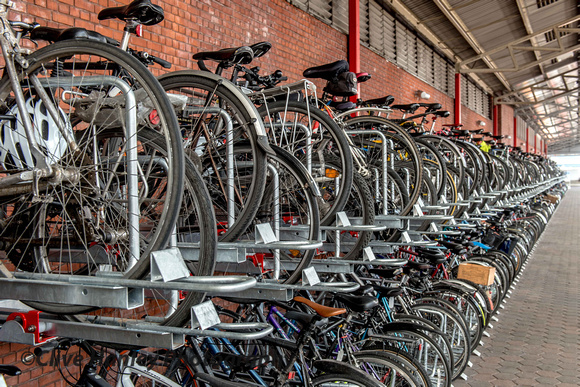 What a massive improvement with bicycle storage at Marylebone station. Commuters leave their bikes here & Clive Hanley Photography | 6 April 2013. The Inter-City Express ...