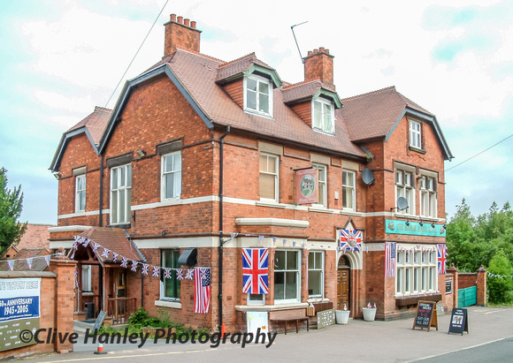 The Manor House Hotel opposite Quorn station entrance