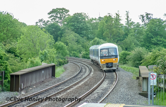 My journey began at Warwick Parkway where I stepped onto a service train to Birmingham